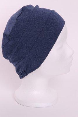 LTS29 Donker jeans blauw gêmeleerd tricot
