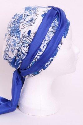 SMP49 Sjaaltje kobalt blauw