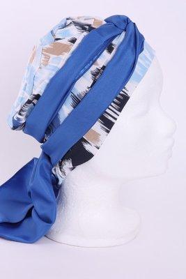 SMP55 Sjaaltje kobalt blauw