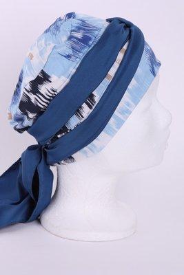 SMP58 Sjaaltje jeans blauw