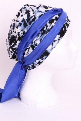 SMP65 Sjaaltje kobalt blauw