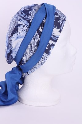 SMP68 Sjaaltje Kobalt blauw