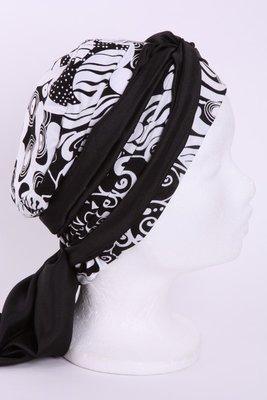 SMP75 Sjaaltje zwart