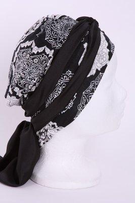SMP76 Sjaaltje zwart