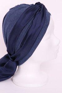 JBG2 jeans blauw gêmeleerd tricot